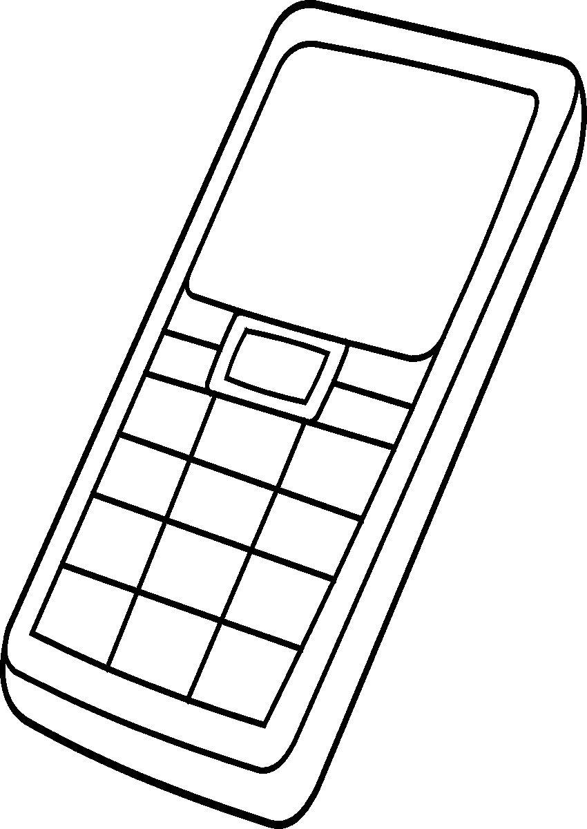 картинки телефона распечатать титры