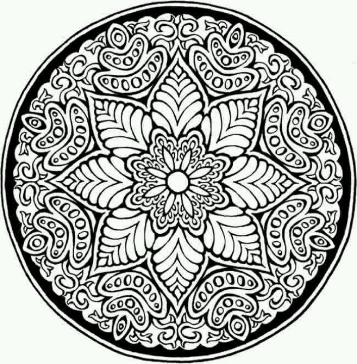 Related Patterns Coloring Pages item-13862, Free Printable Adult ...