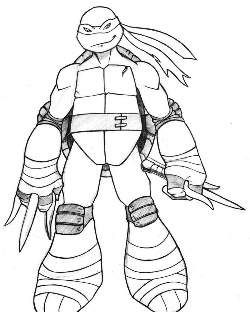 tmnt coloring pages ralph 2012 - photo#2