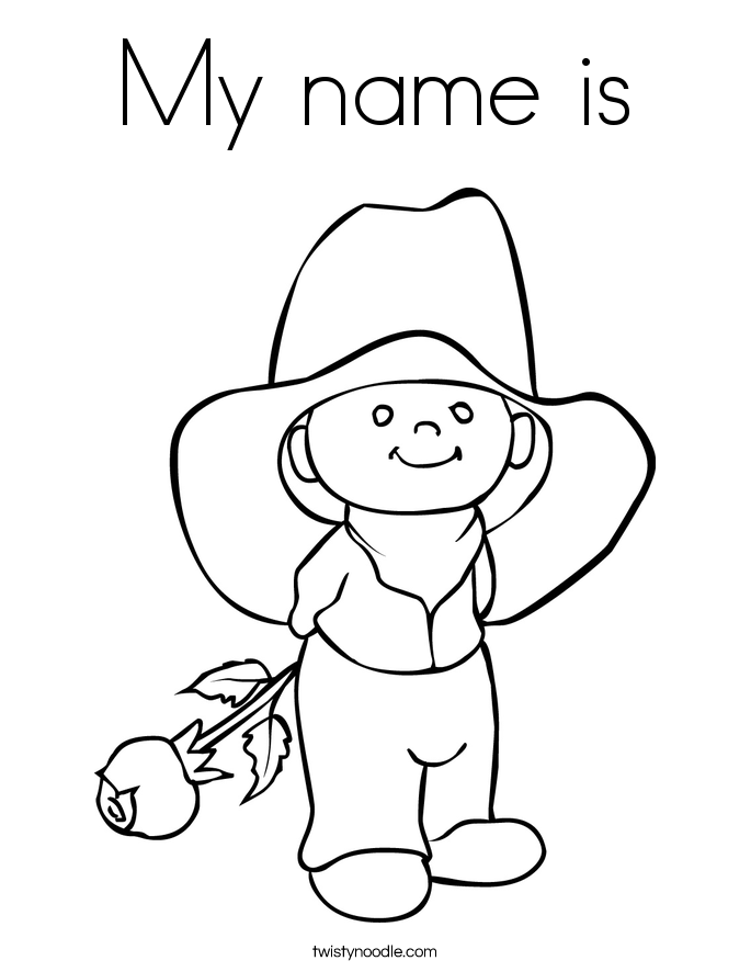 Coloring Pages Of Your Name - Coloring Home
