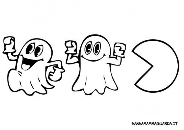 pacman printable coloring pages - photo#46