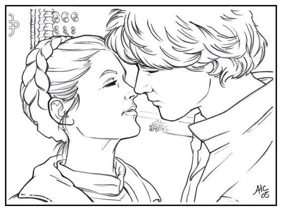 Coloring Pages Princess Leia : Princess leia coloring page home