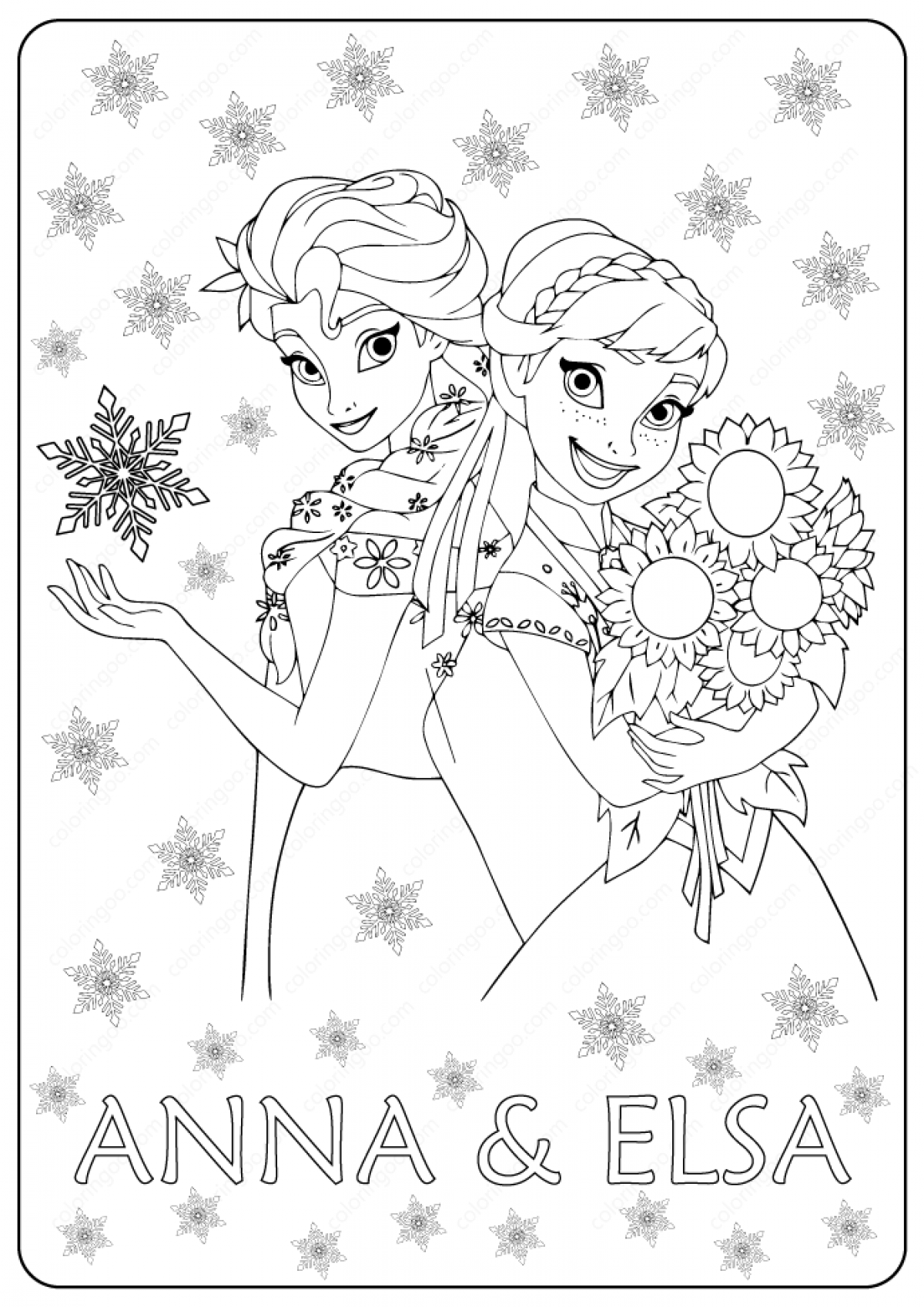 Ana Frozen 2 Coloring Pages - Coloring Home