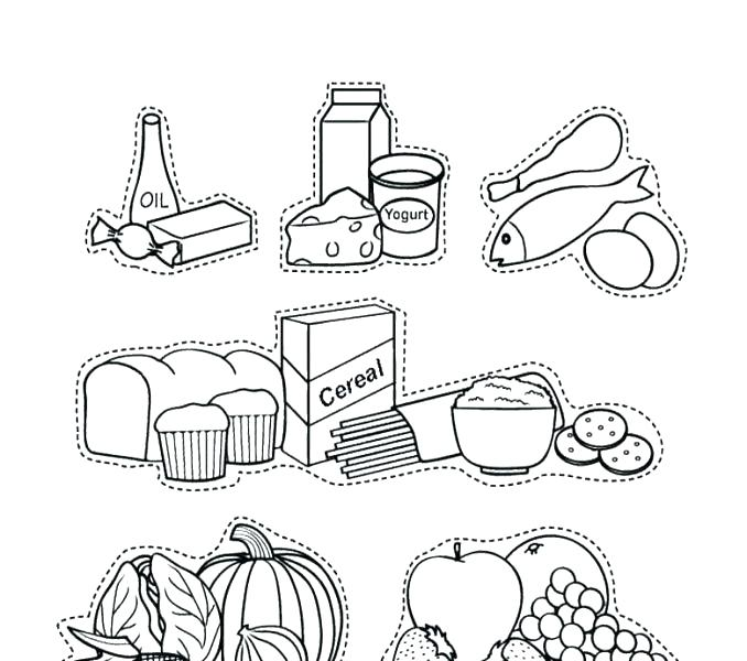 Cereal clipart coloring page, Cereal ...webstockreview.net