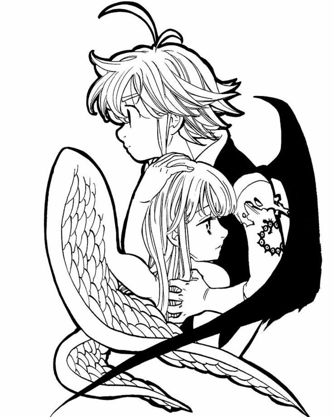 Seven Deadly Sins Coloring Pages - Coloring Home
