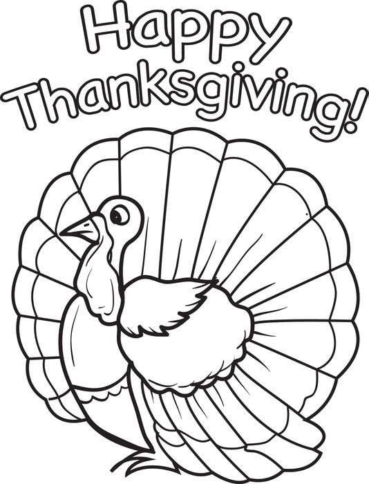 Printable Thanksgiving Turkey Coloring Page For Kids Turkey Coloring Pages,  Free Thanksgiving Coloring Pages, Thanksgiving Coloring Pages - Coloring  Home