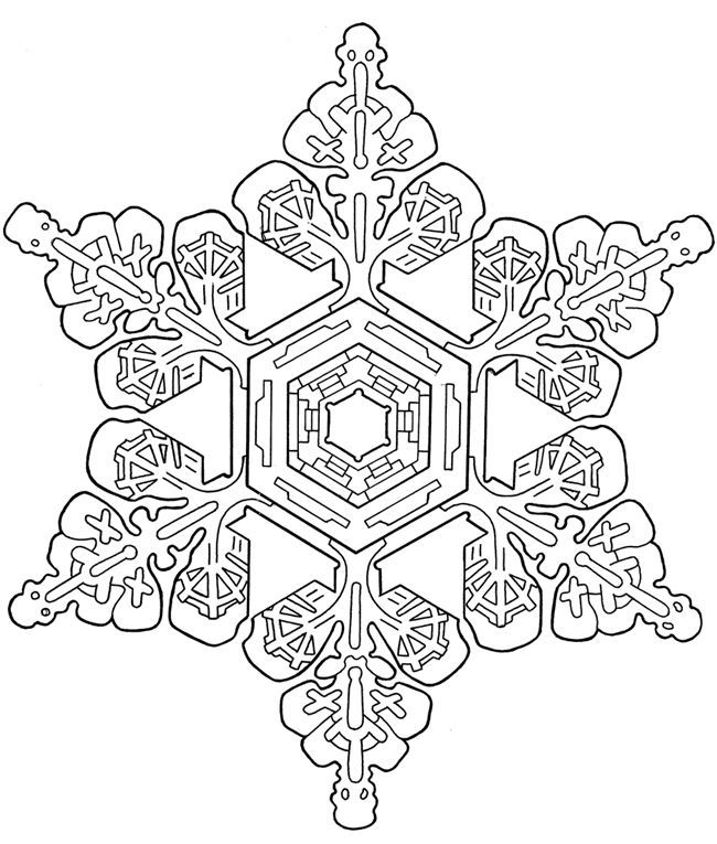 snowflake coloring pages for adults - christmas coloring pages snowflakes coloring home