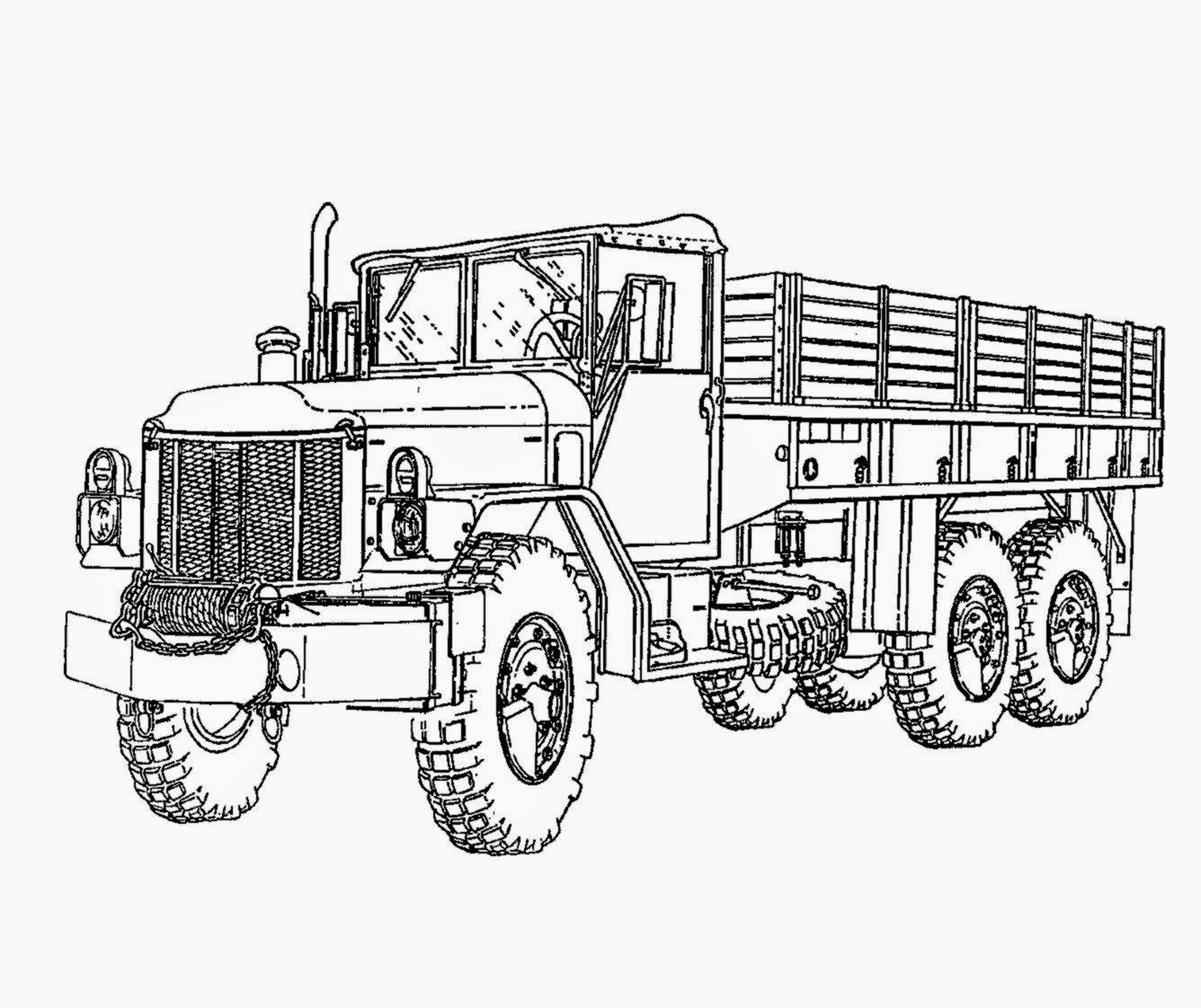 Army Tank Coloring Pages Free