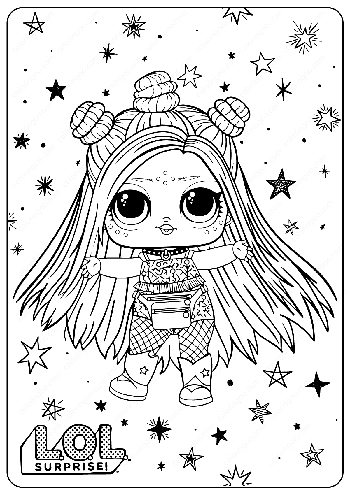 Lol Surprise Coloring Pages - Coloring Home