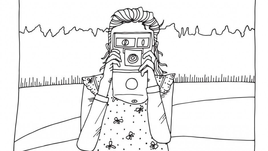 camera coloring pages - photo#33
