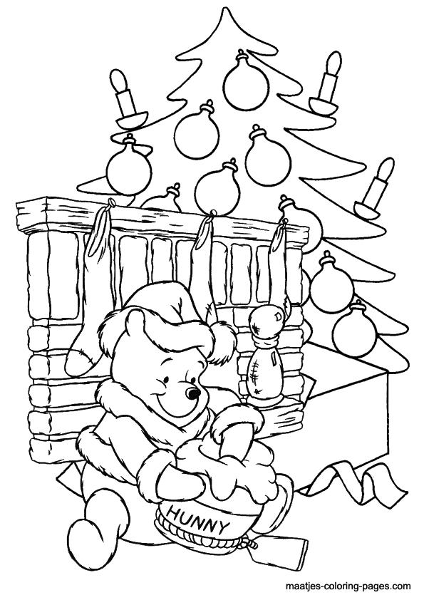 Winnie Xmas Coloring Pages Homerhcoloringhome: Christmas Coloring Pages Winnie The Pooh At Baymontmadison.com