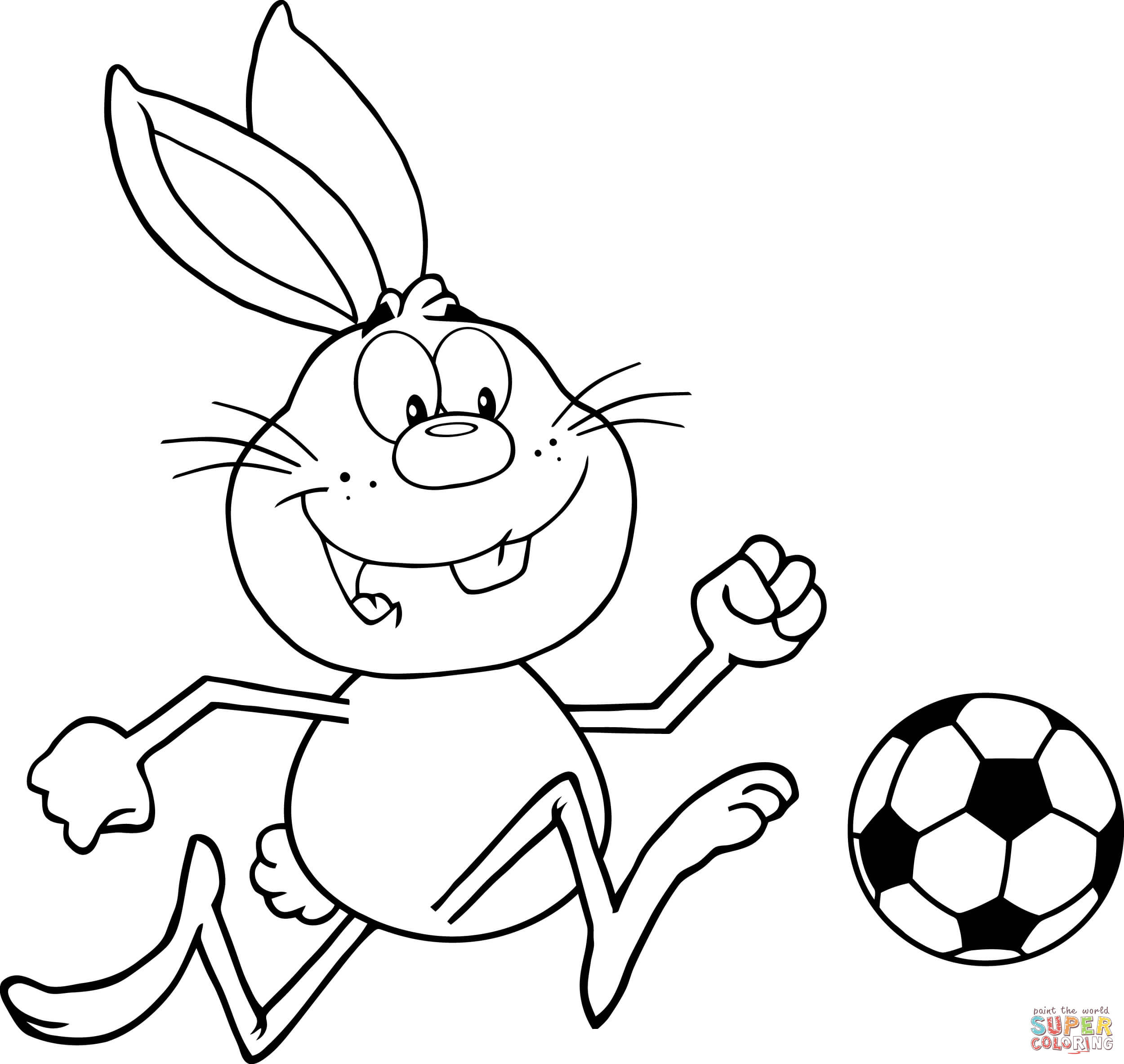 Soccer coloring pages | Free Coloring Pages