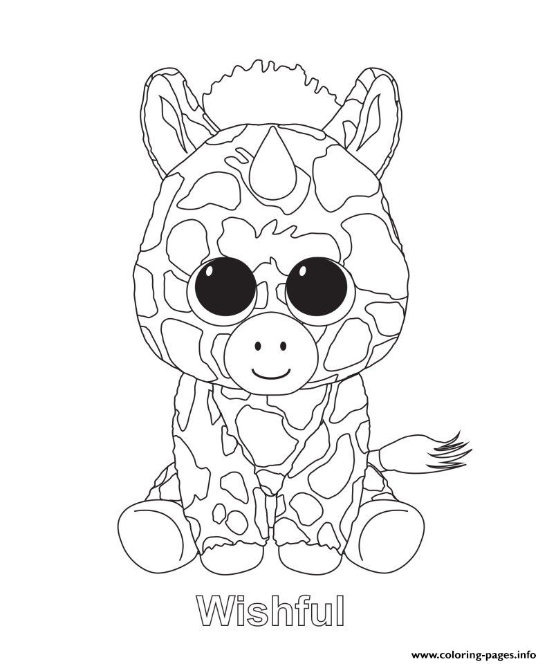 BEANIE BOO Coloring Pages - Coloring Home