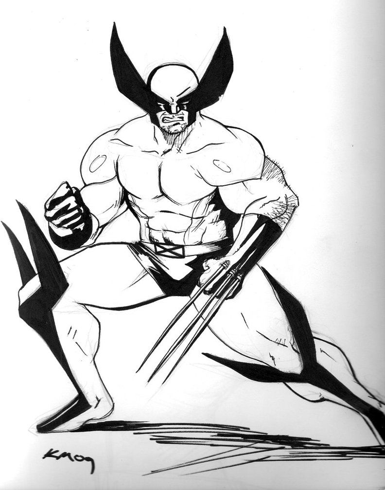 Coloring pages wolverine coloring home for Wolverine coloring pages free