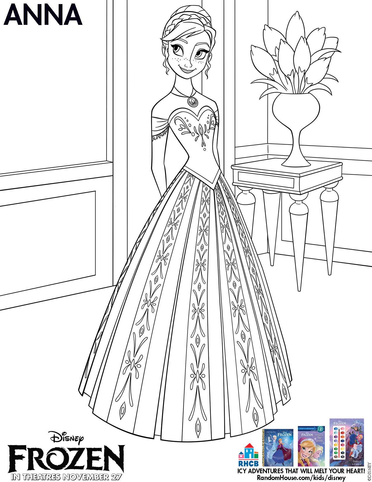 Frozen Coloring Pages Pdf Download : Frozen coloring pages pdf home