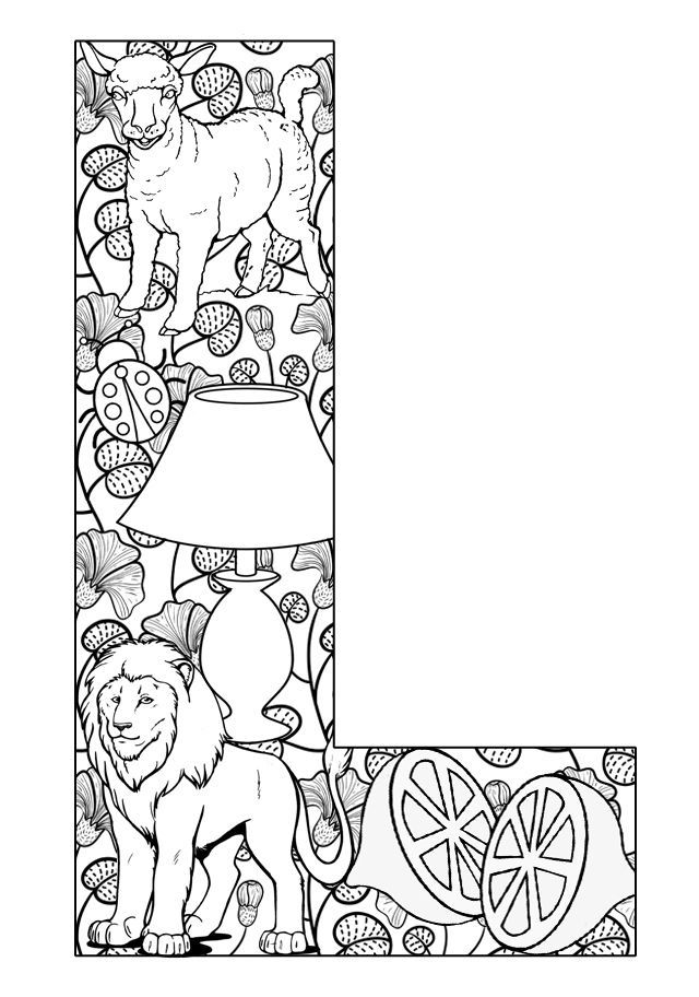 coloring pages l - photo#5