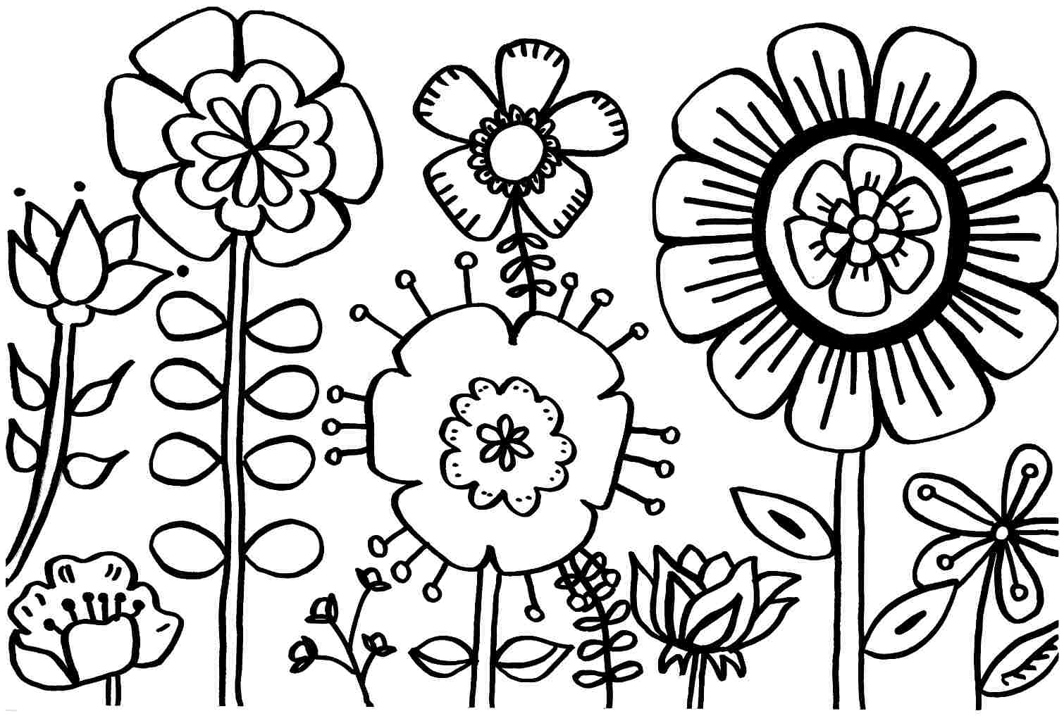 Spring Break Coloring Sheets | Coloring Online