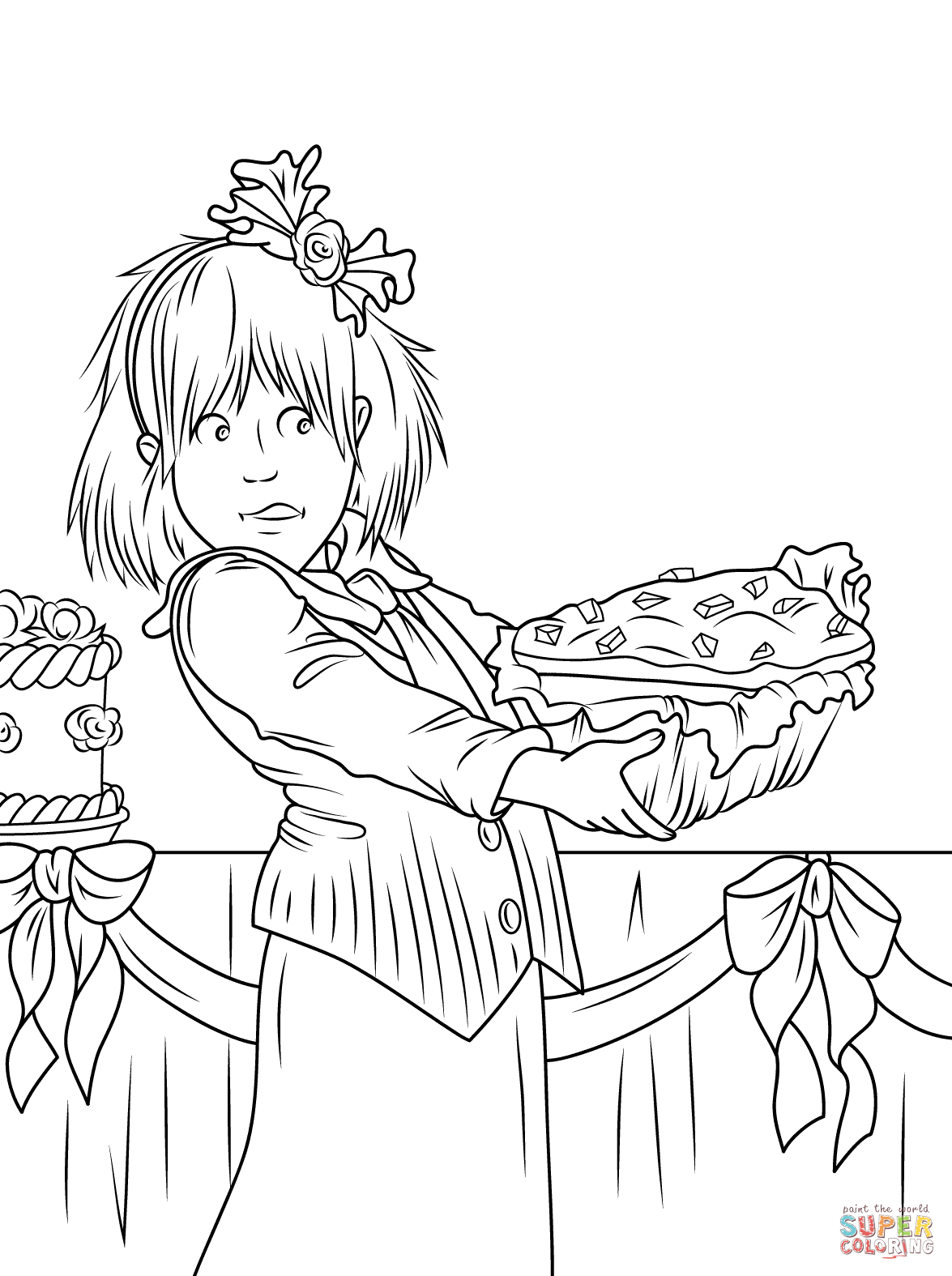 Junie B Jones Coloring Page Coloring Home
