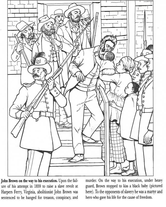 underground railroad coloring pages - photo#3