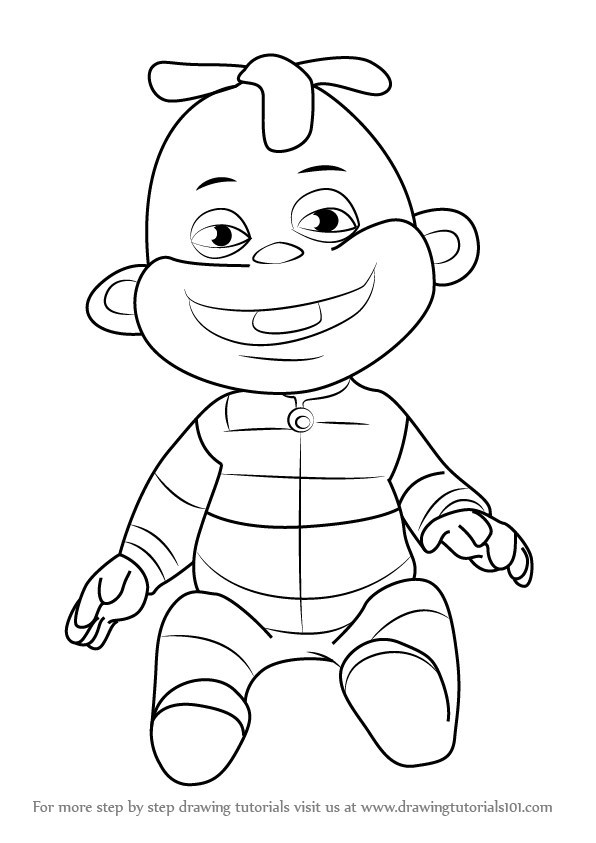 Zeke Sid The Science Kid Coloring Page Coloring Home