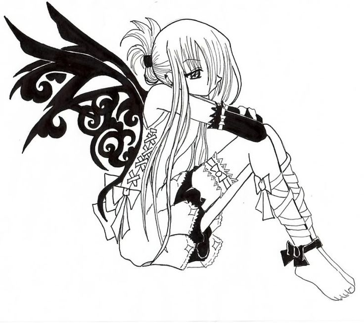 anime vampire girl coloring pages emo vampire colouring vampires - Anime Vampire Girl Coloring Pages