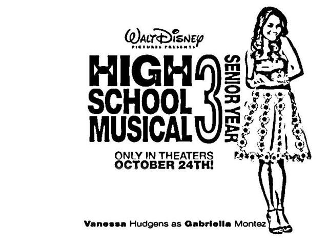 Free Printable High School Musical