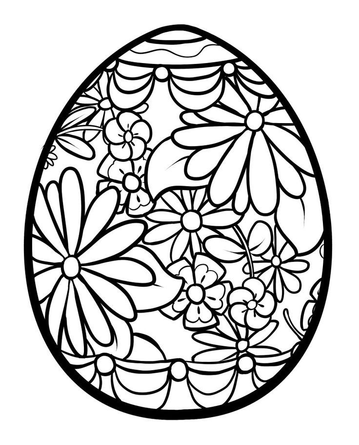 - Easter Coloring Pages For Adults - Coloring Home