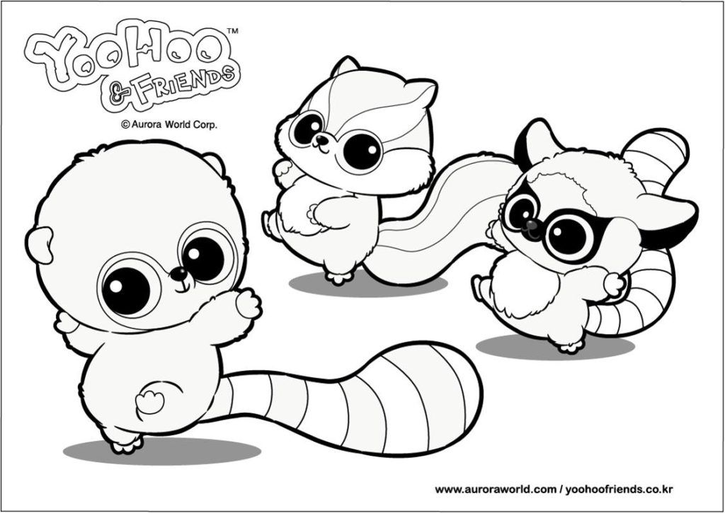 Coloring Pages: Yoohoo And Friends Coloring Pages, coloring sheets ...