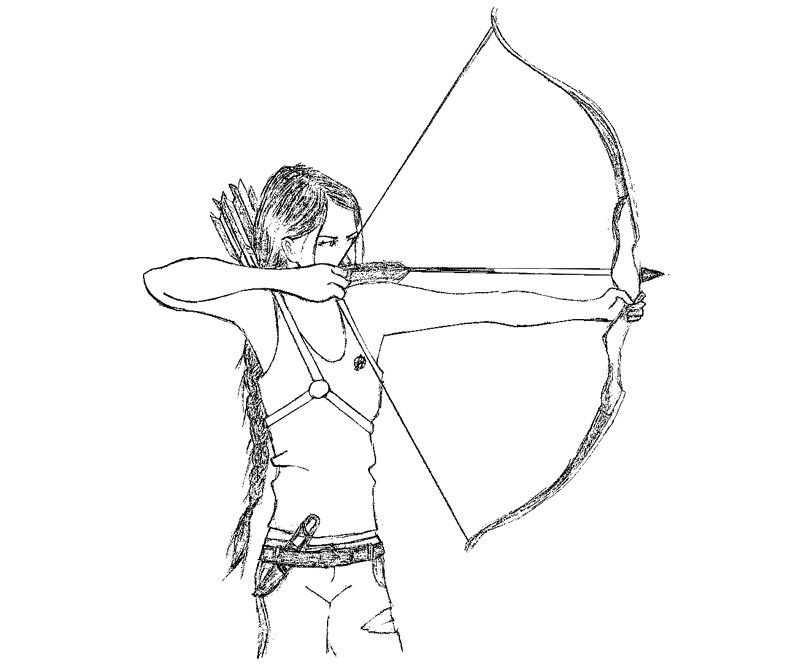 Homely Ideas Coloring Pages Games The Hunger Games Coloring Pages