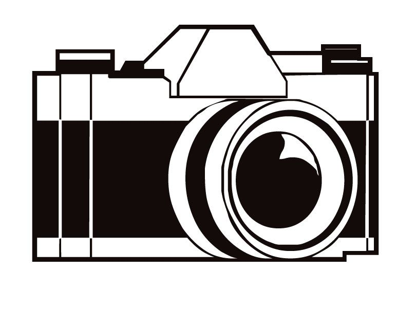 coloring pages to print camera - photo#13