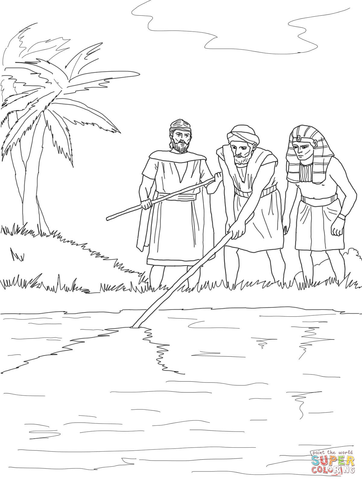 Abraham Kleurplaat 10 Plagues Of Egypt Coloring Pages Coloring Home