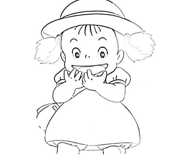 Totoro Coloring Pages Sketch Coloring Page Totoro Coloring Pages