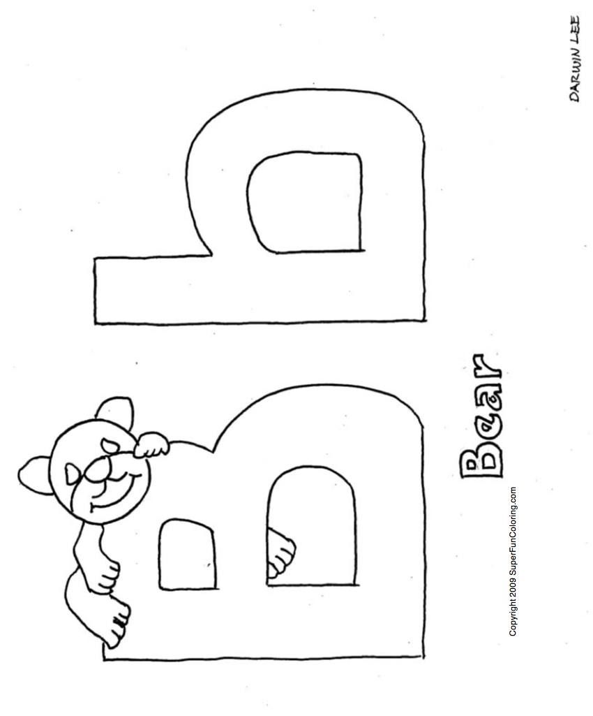 whole alphabet coloring pages - photo#14