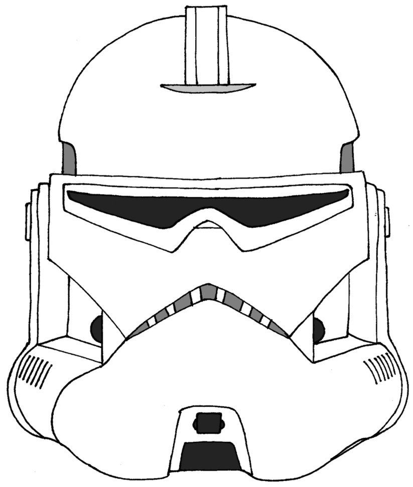 16 Best Photos Of Stormtrooper Helmet Template - Star Wars ...