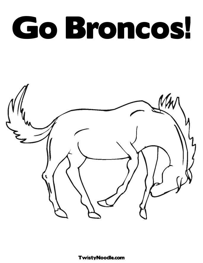 15 Pics of Denver Broncos Mascot Coloring Page - Denver Broncos .