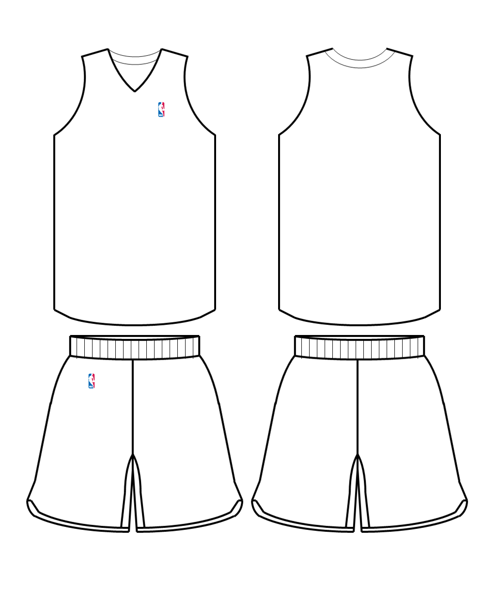 nba jerseys coloring pages - photo#22