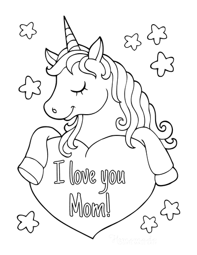 77 Mother's Day Coloring Pages | Free Printable PDFs