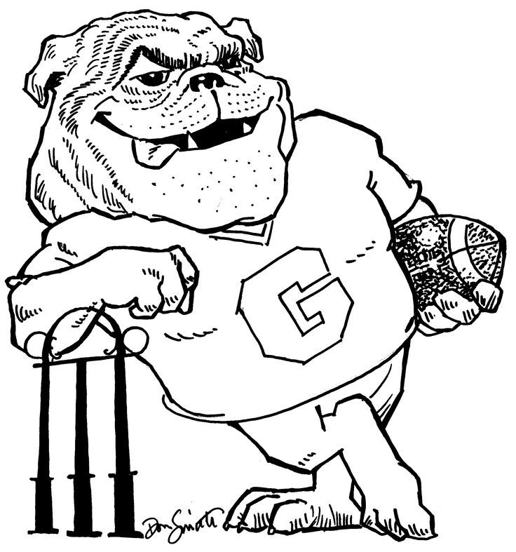 printable bulldog coloring pages coloring home