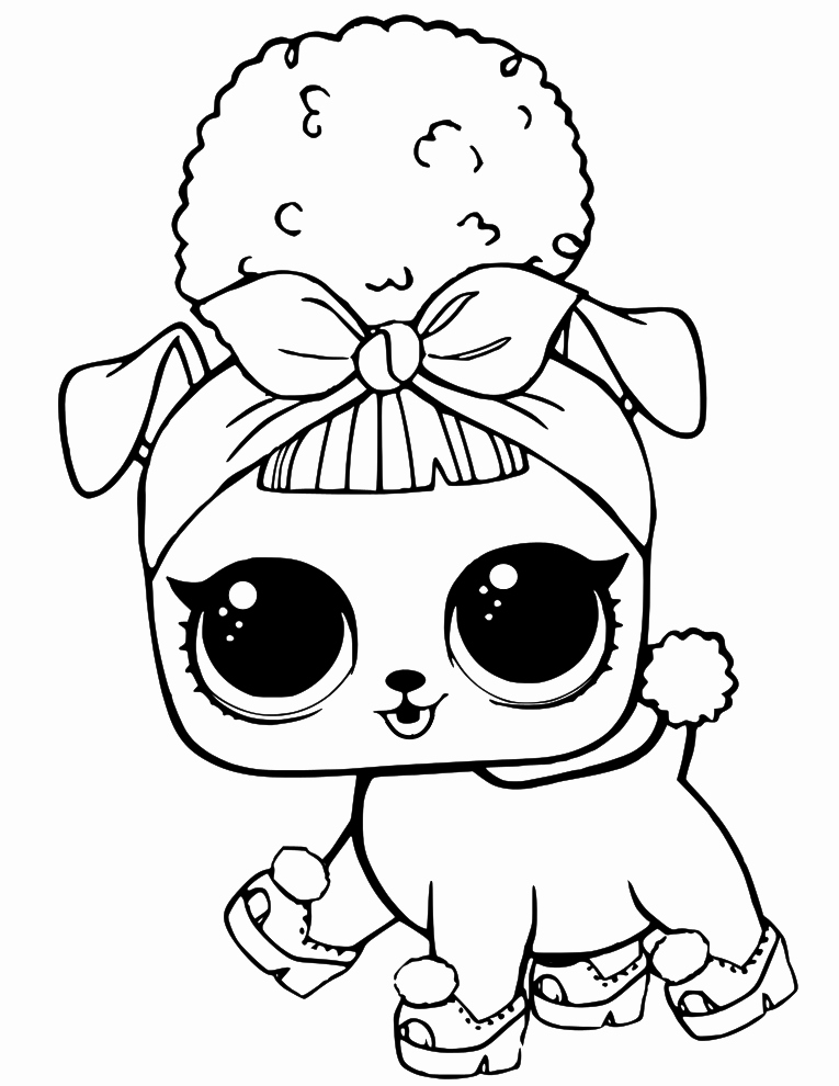 LoL Dolls Coloring Pages - Coloring Home