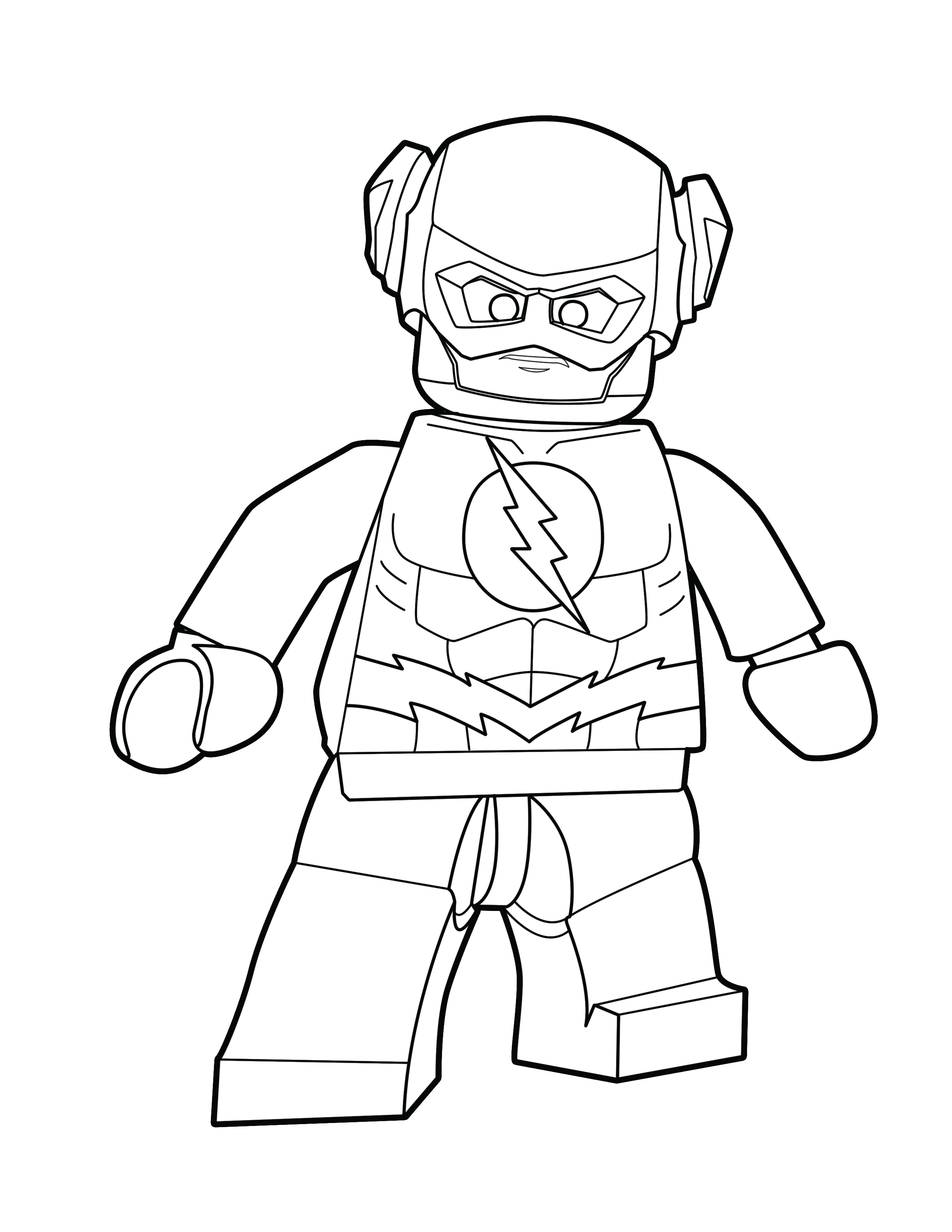 - Lego Flash Coloring Pages - Coloring Home