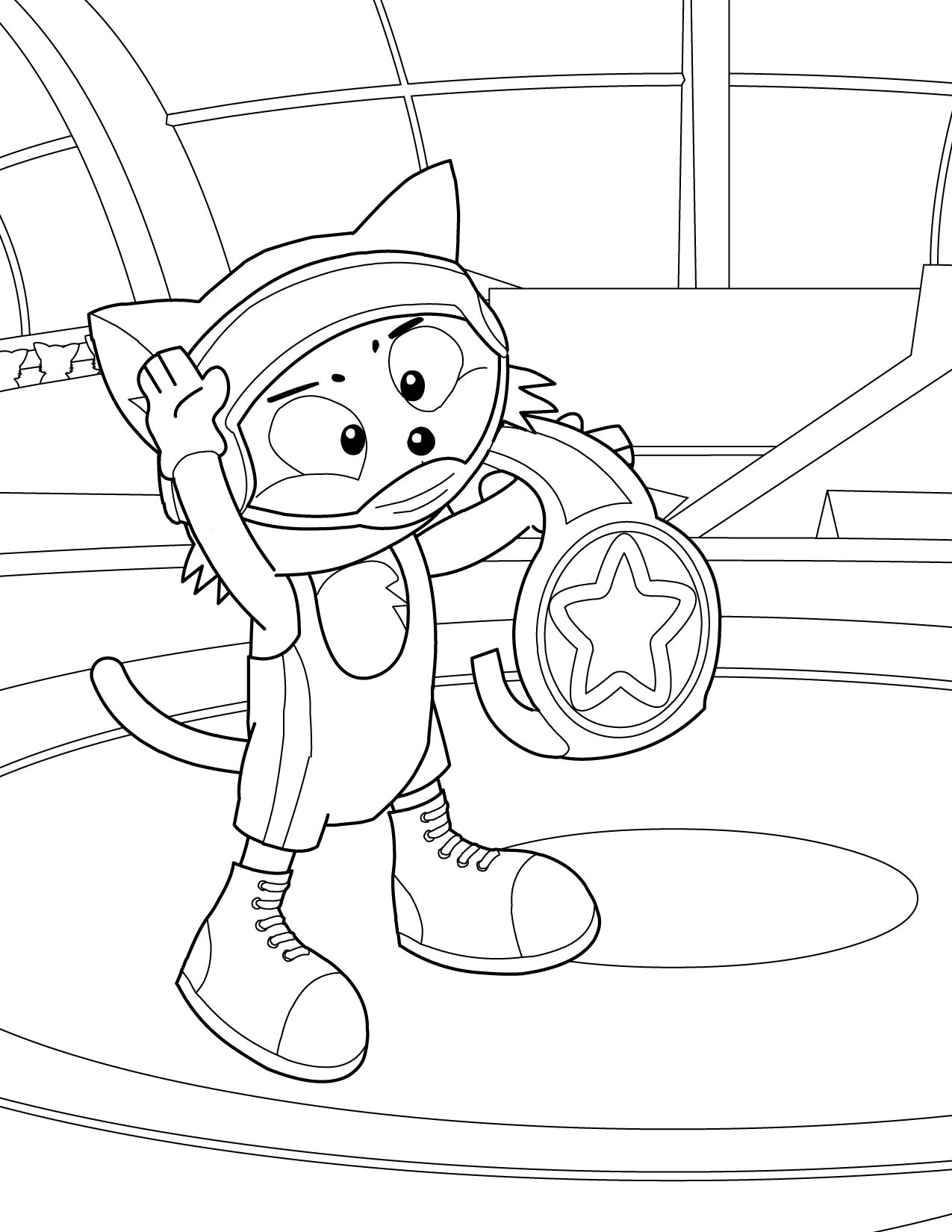 Wrestling Coloring Pages For Kids - Coloring Home