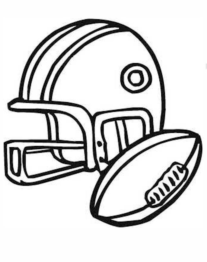 Football Coloring Pages. Beff.co