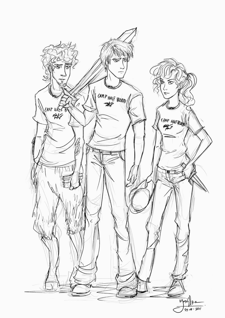 - Percy Jackson Coloring Pages - Coloring Home