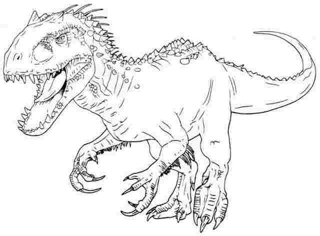 Jurassic World Coloring Pages - Coloring Home
