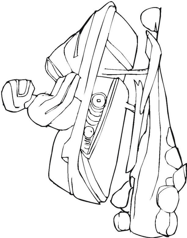 snowmobile coloring pages - photo#28