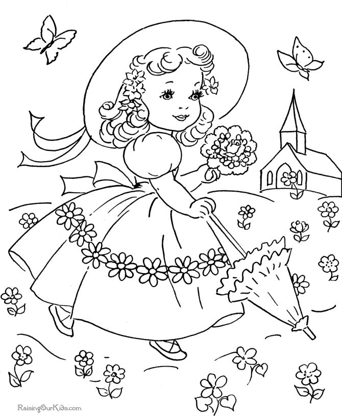 Vintage Coloring Book Pages Coloring Home Vintage Coloring Pages