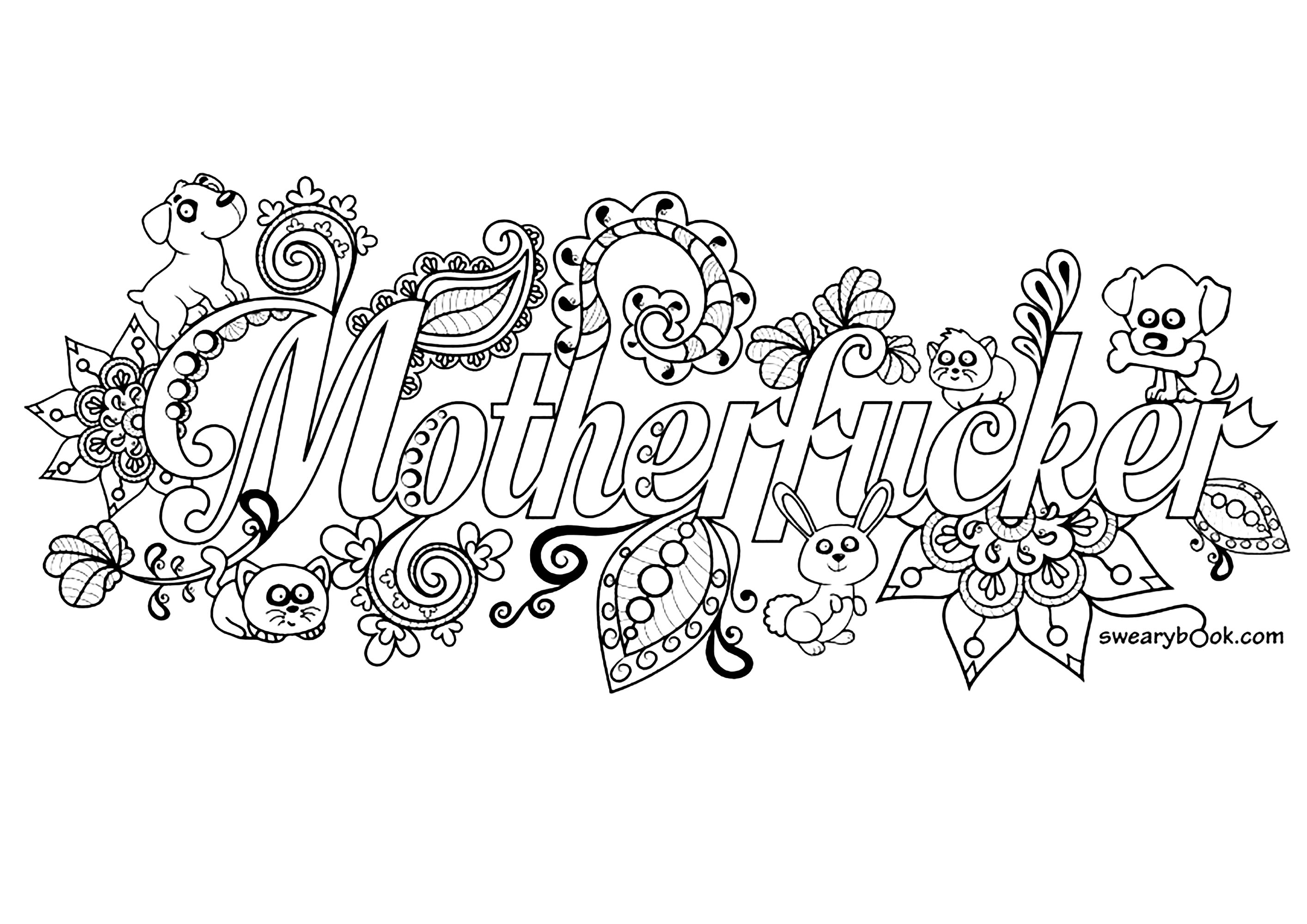 Swear Coloring Pages Coloring Home