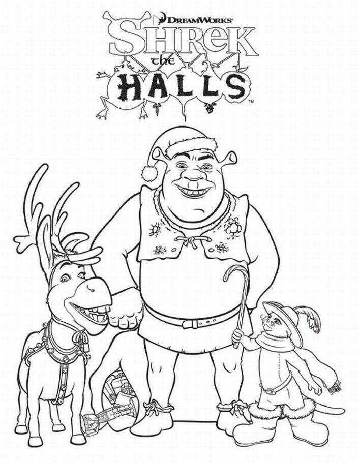 shrek babies coloring pages - photo#12