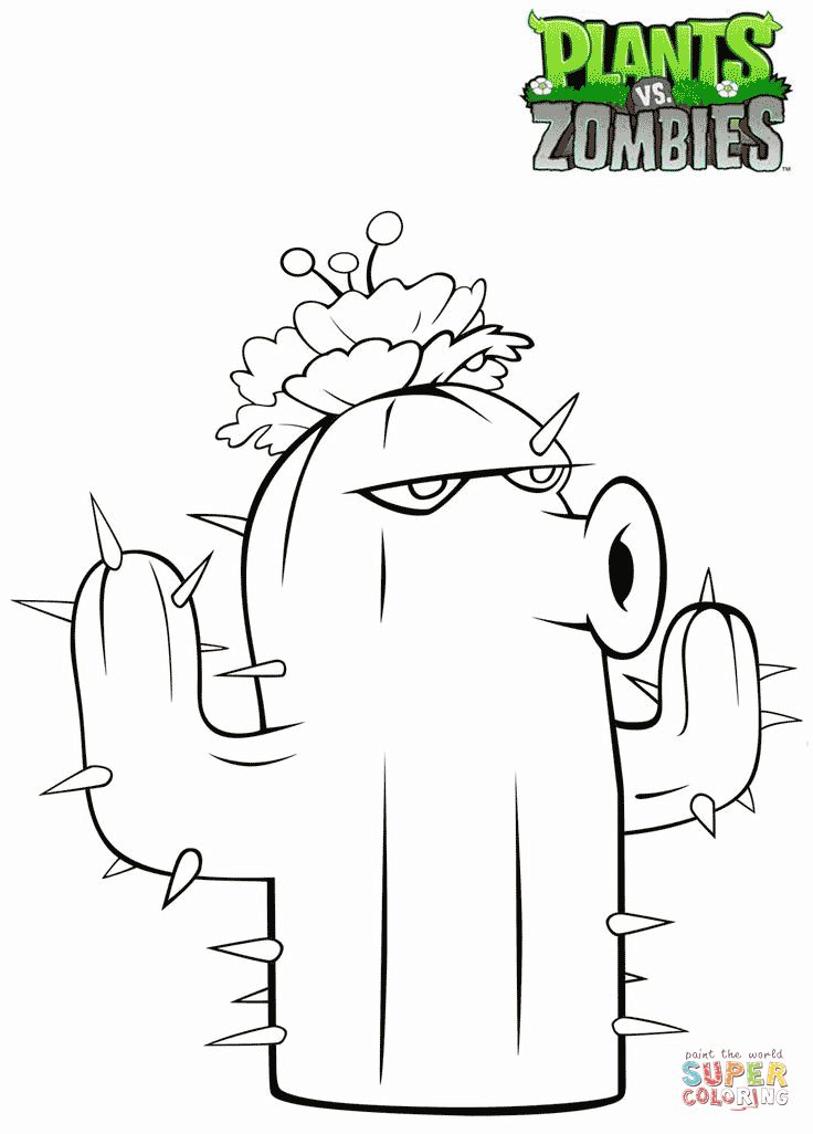 Peashooter Coloring Pages Coloring Home
