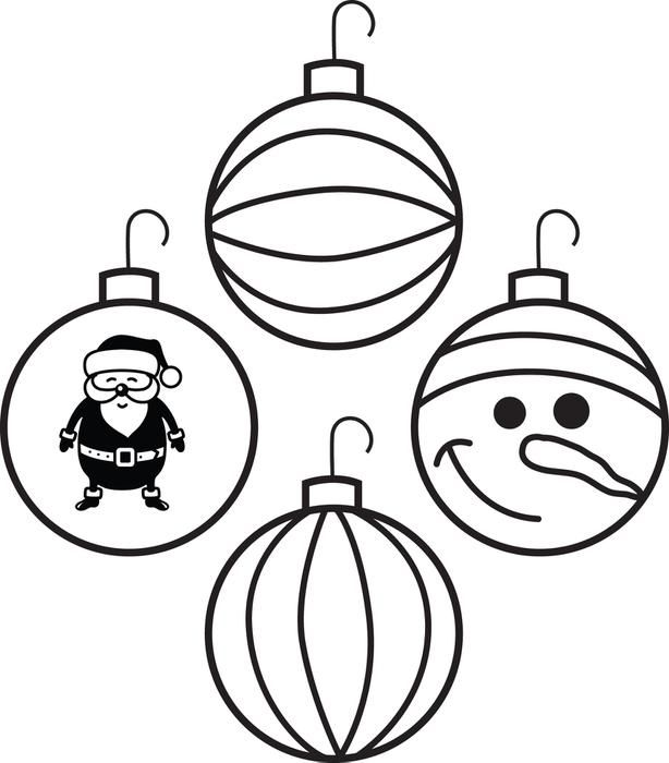ornament printable coloring pages - photo#27